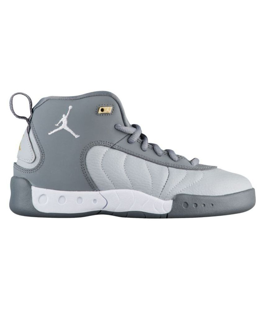 hot sale online 6894d a4b0a Nike Jordan Jumpman Pro Gray Midankle Male Others  Buy Online at Best Price  on Snapdeal