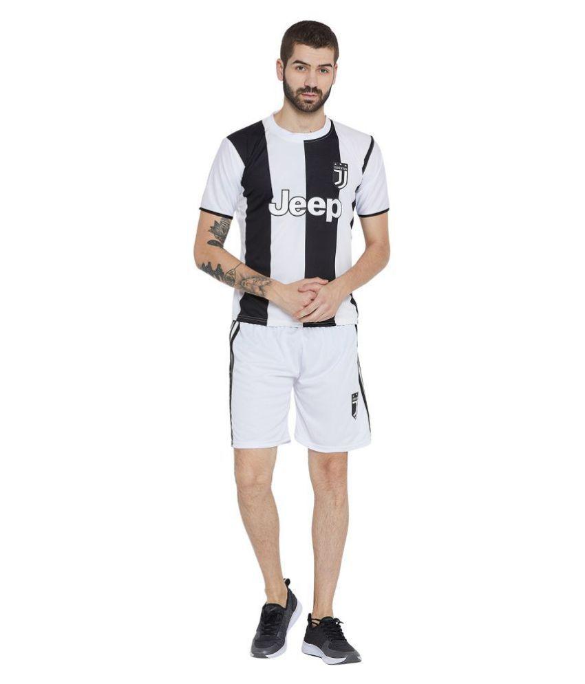 Sportigoo Unisex JUVENTUS Football Jersey - White
