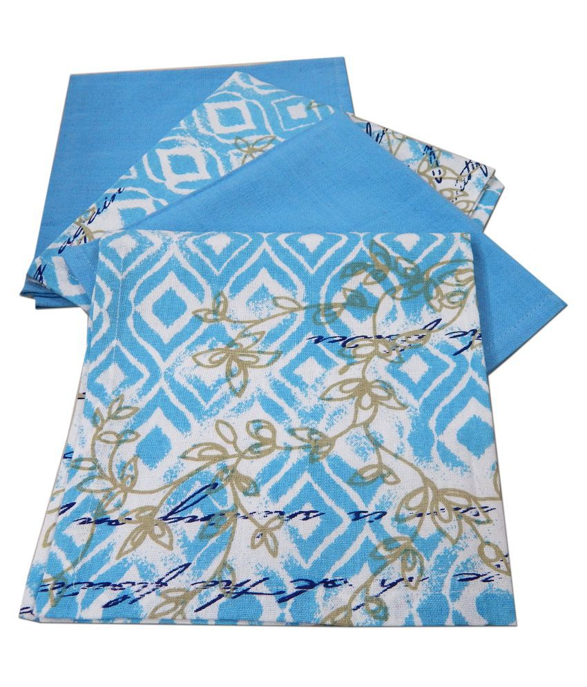 URBAN-TRENDZ Set of 4 40x60 Cotton Kitchen Towel