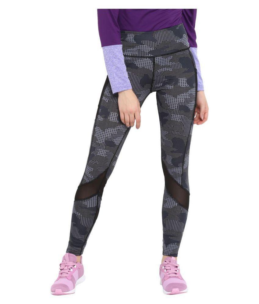 CHKOKKO Women's High Waist Sports Fitness Leggings Gym Tights Stretchable Yoga Pant