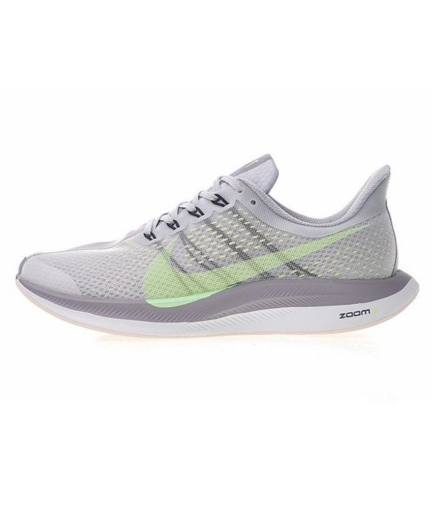 be483d472b905 Nike Air Zoom Pegasus 35 Turbo 2 2019 Running Shoes Gray For Gym Wear  Buy  Online at Best Price on Snapdeal
