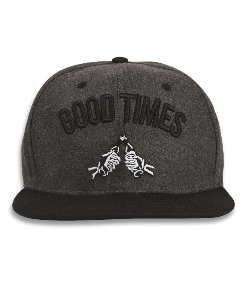 Drunken Dark Grey Cap for boys and cap for girls