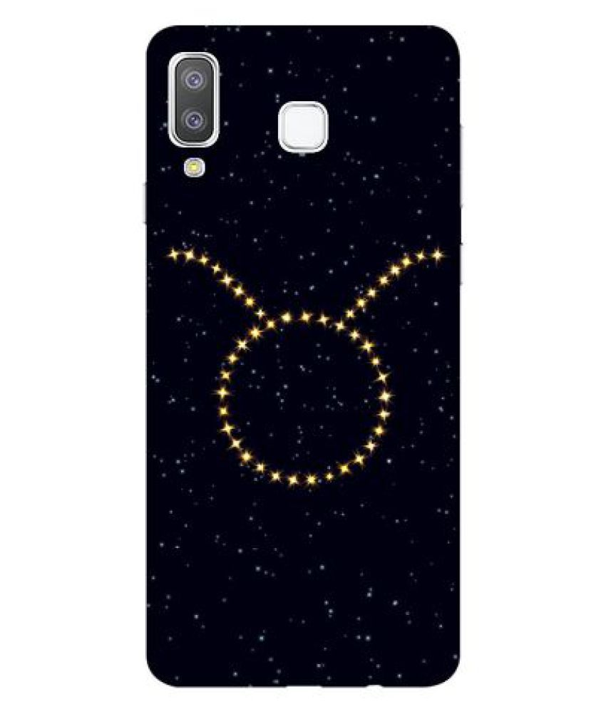 Samsung Galaxy A8 Star Printed Cover By Emble