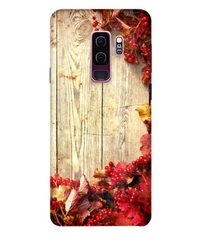 Samsung Galaxy S9 Plus Printed Cover By Emble