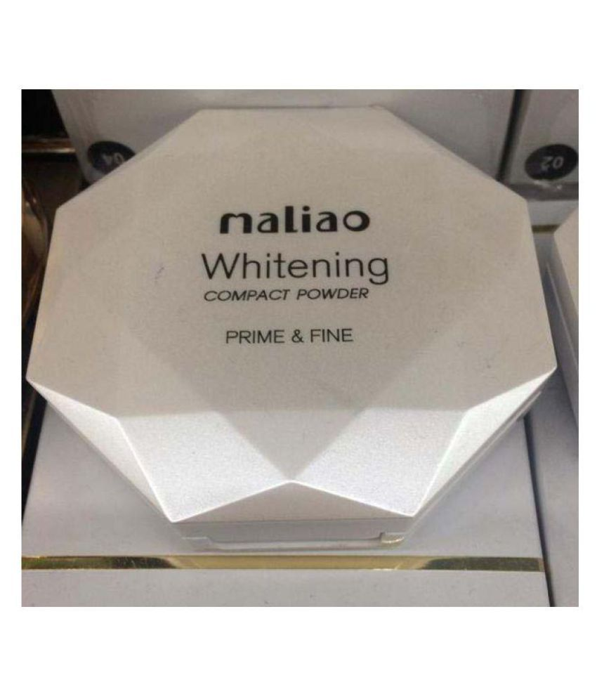 Maliao Whitening Compact Pressed Powder Prime& Fine 4 gm