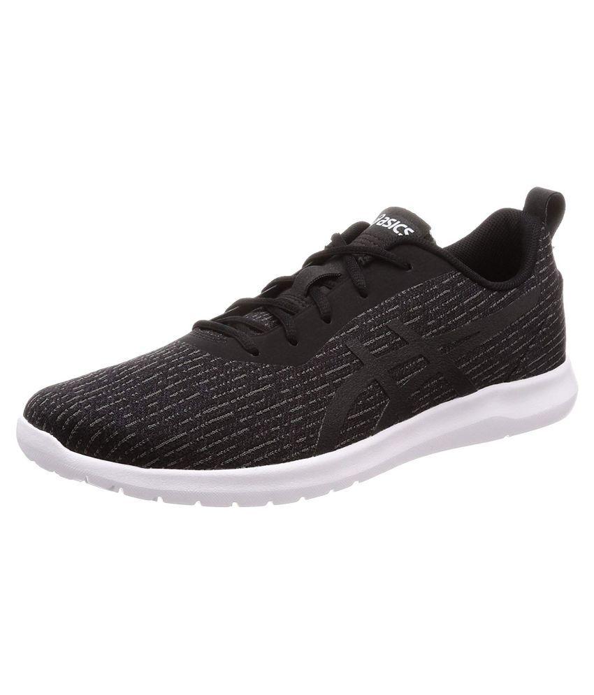 more photos 29991 8d6e1 Asics KANMEI 2 Sports Black Running Shoes