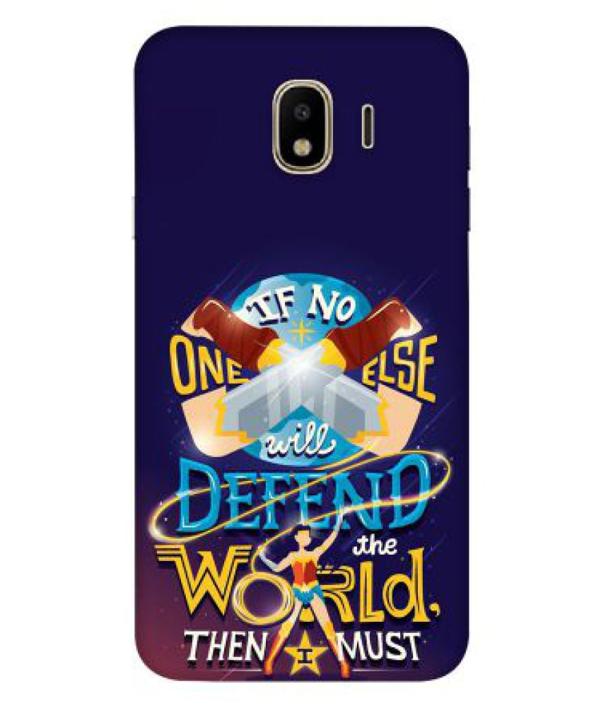 Samsung Galaxy J4 Printed Cover By Emble