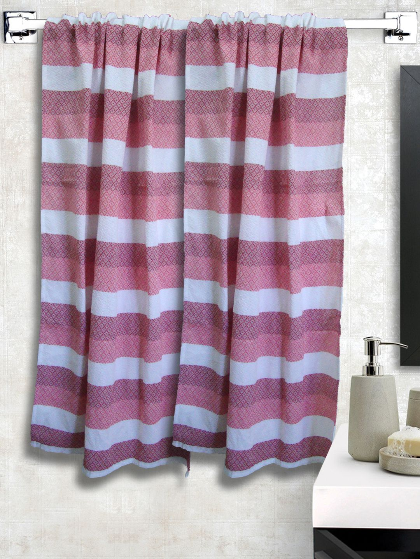 Athom Trendz Set of 2 Cotton Bath Towel Multi