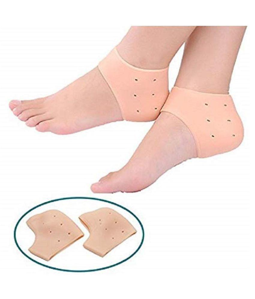 Mobile Addaa Silicon Heel Protecter Gel Heel Socks Gel Heel Socks