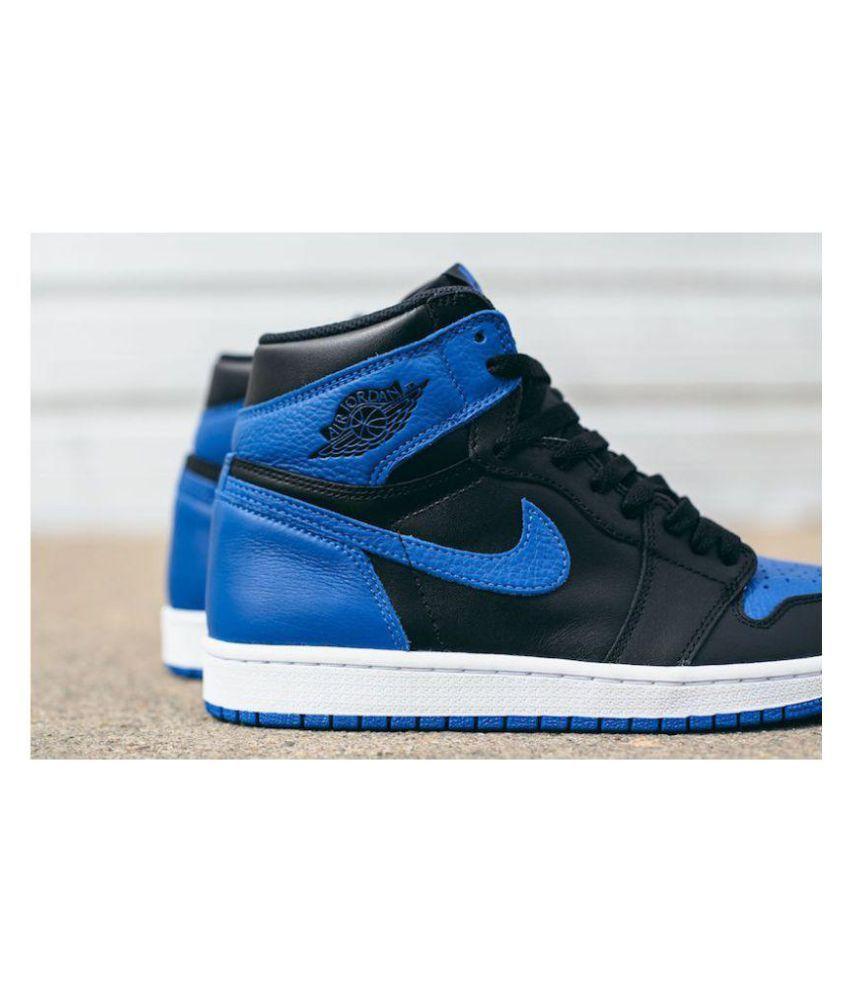 fc6358154f2 Nike Air Jordan Retro 1 Og Royal Blue Midankle Male Blue: Buy Online ...