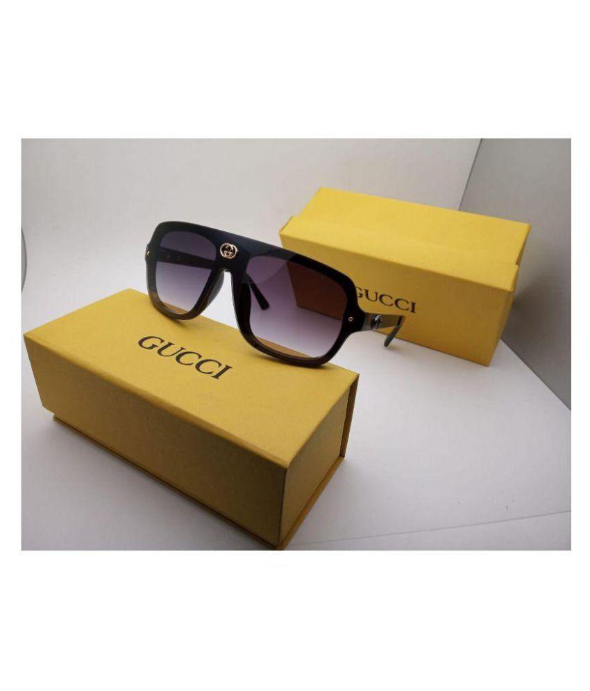 71381f3d GUCCI EYEWEAR Black Aviator Sunglasses ( G36 )