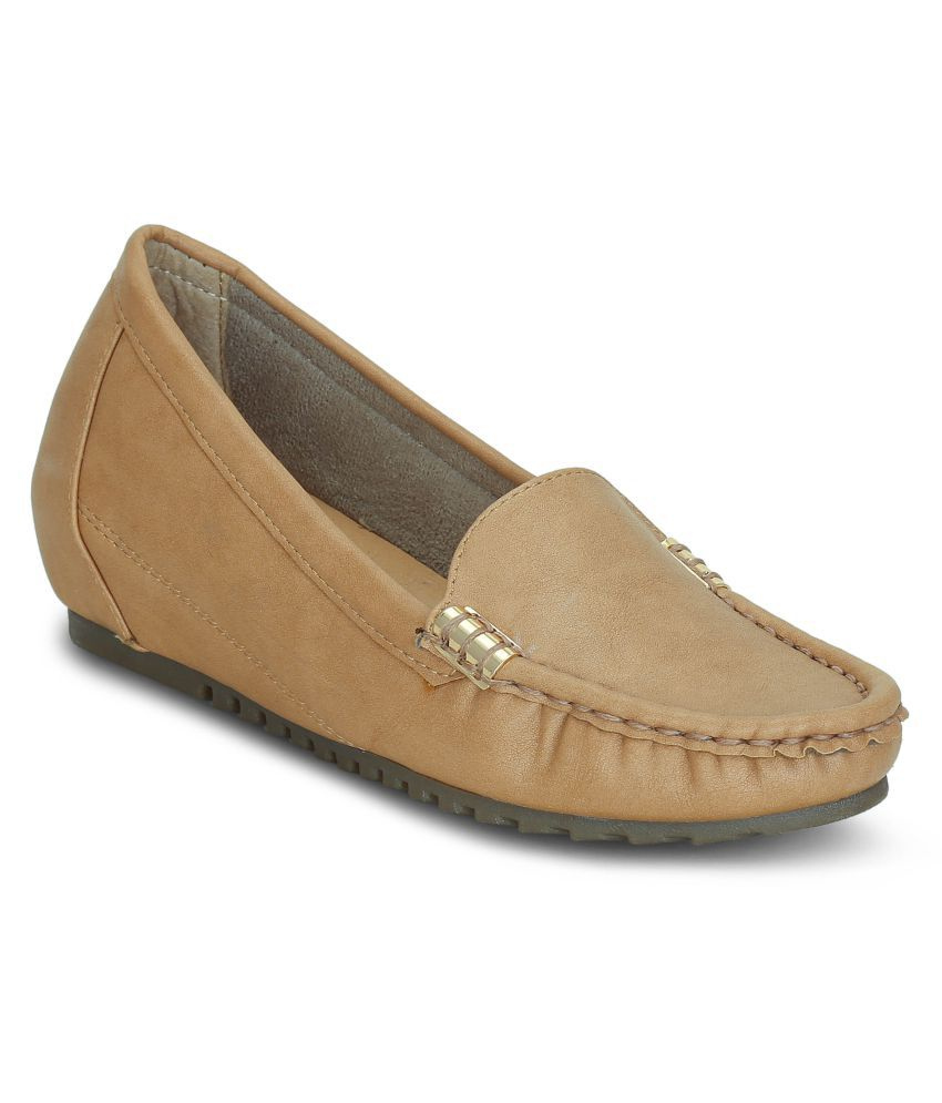 Get Glamr Beige Casual Shoes