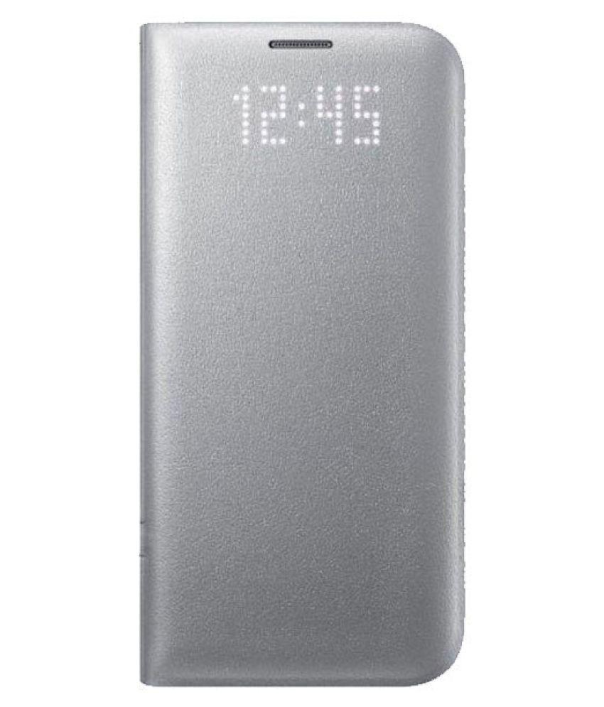 Samsung Galaxy S7 Flip Cover by Samsung - Silver