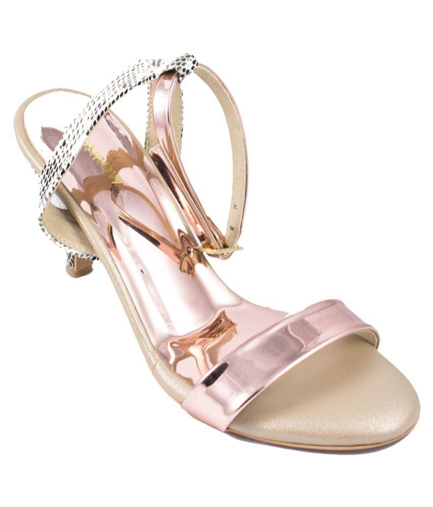 Monrow Pink Kitten Heels