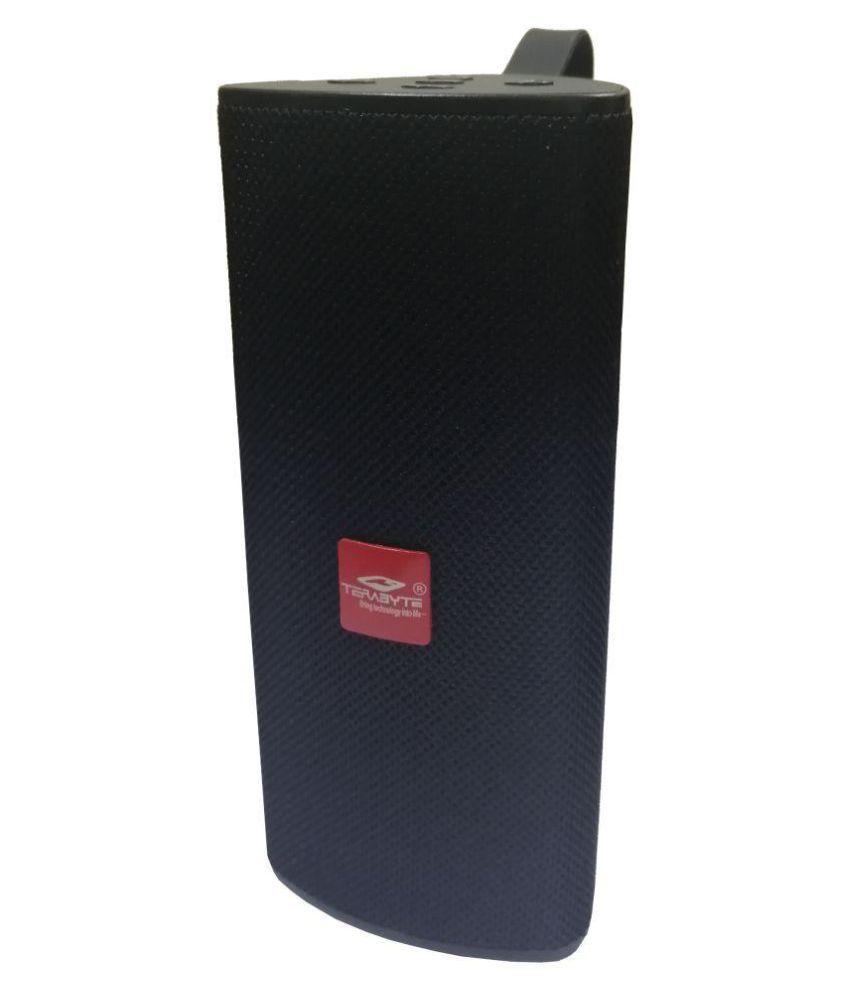 TOQON Terabyte Bass Music and Call Via Decent Sound MP3 Bluetooth Speaker