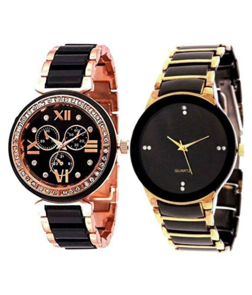 New Fancy Style Multi Colour Stylish Watch For Couple