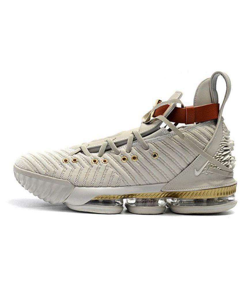 timeless design 188d3 20de9 Nike LEBRON 16 HFR White Basketball Shoes