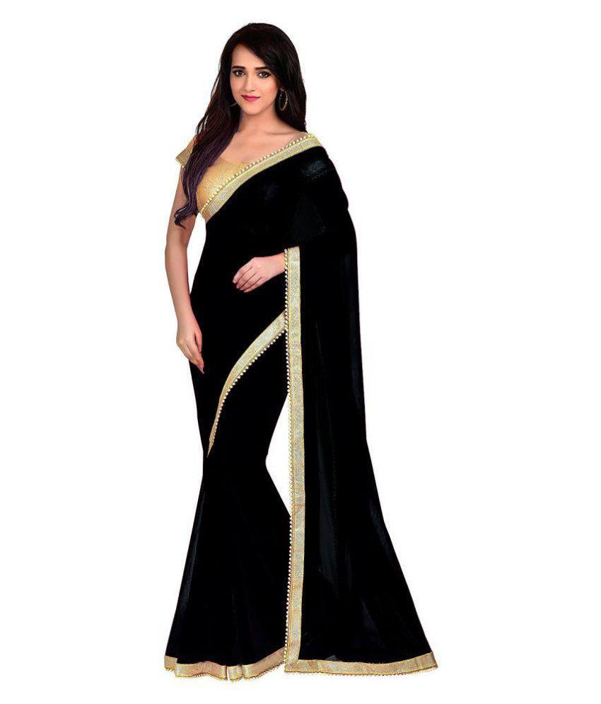 Bhavani' Black Georgette Saree