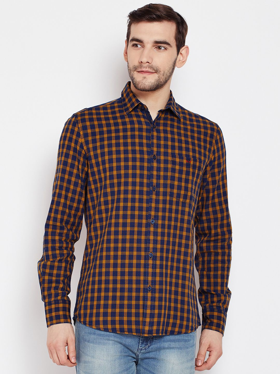 Crimsoune Club 100 Percent Cotton Shirt