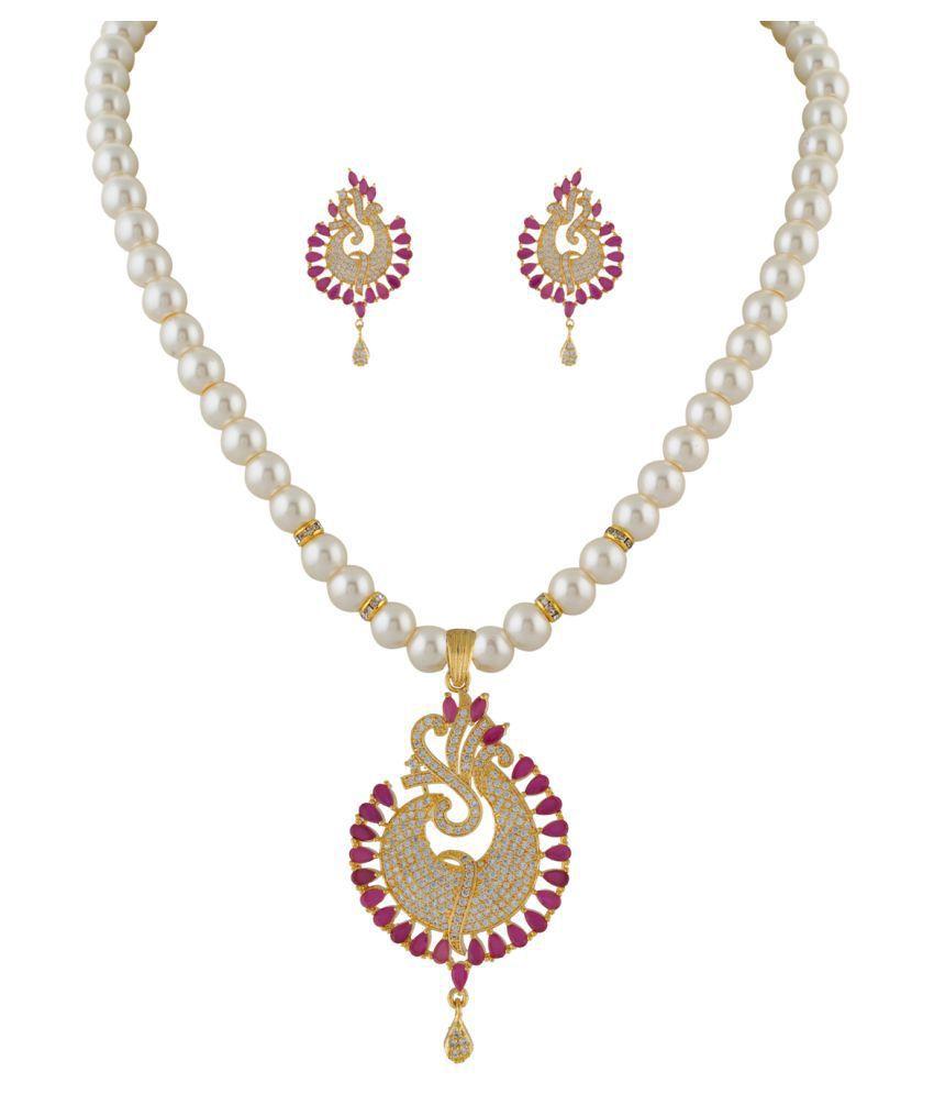 ClassiqueDesigner Simple Designed Pearl Set (cp1330)