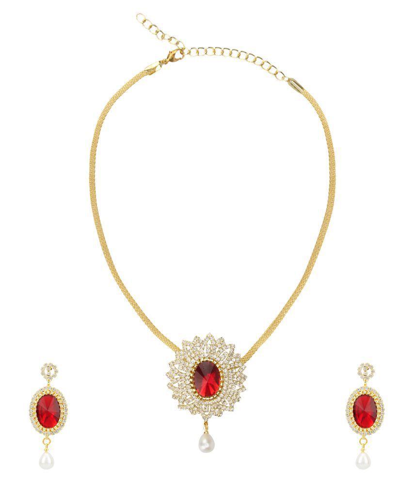 Dancing Girl Wedding Bridal Jewellery Multi Colour Metal Alloy Pendant Earrings Jewellery Sets for Women