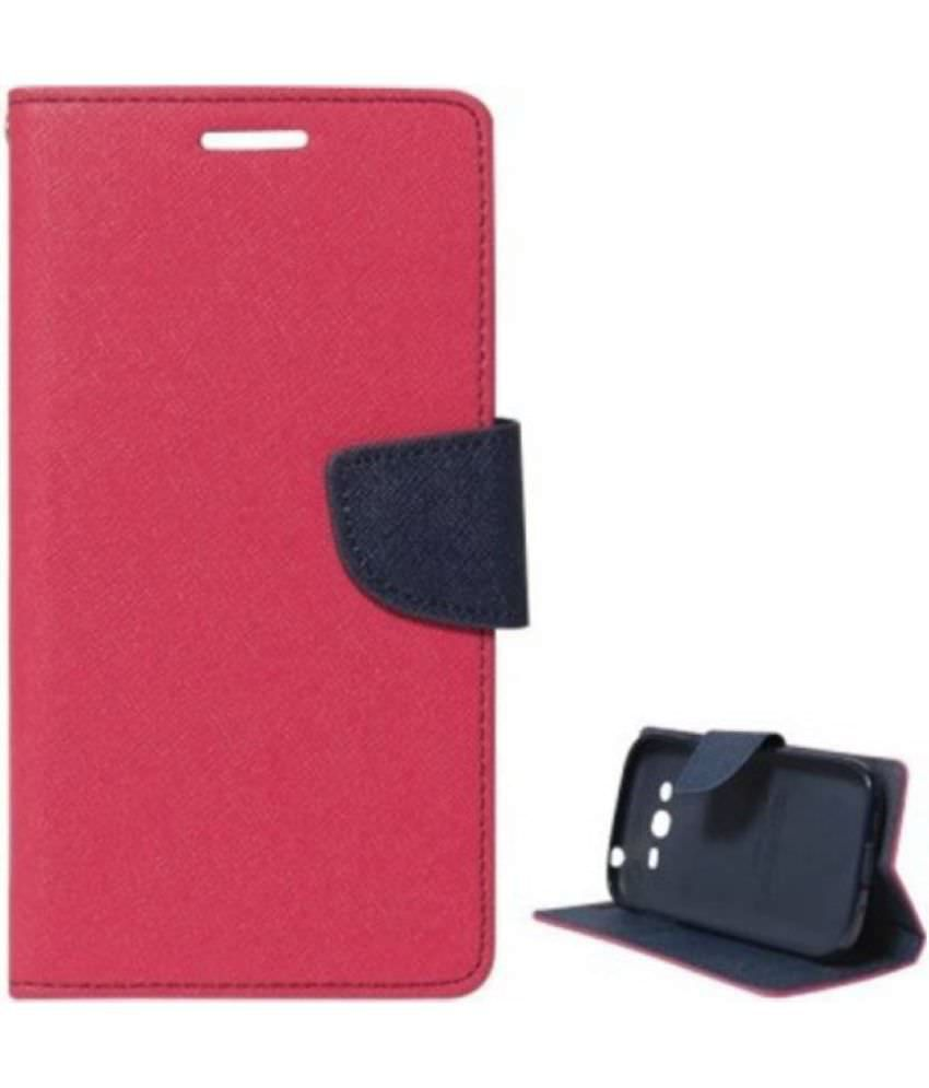 Redmi Note 4 Flip Cover by Bright traders - Pink