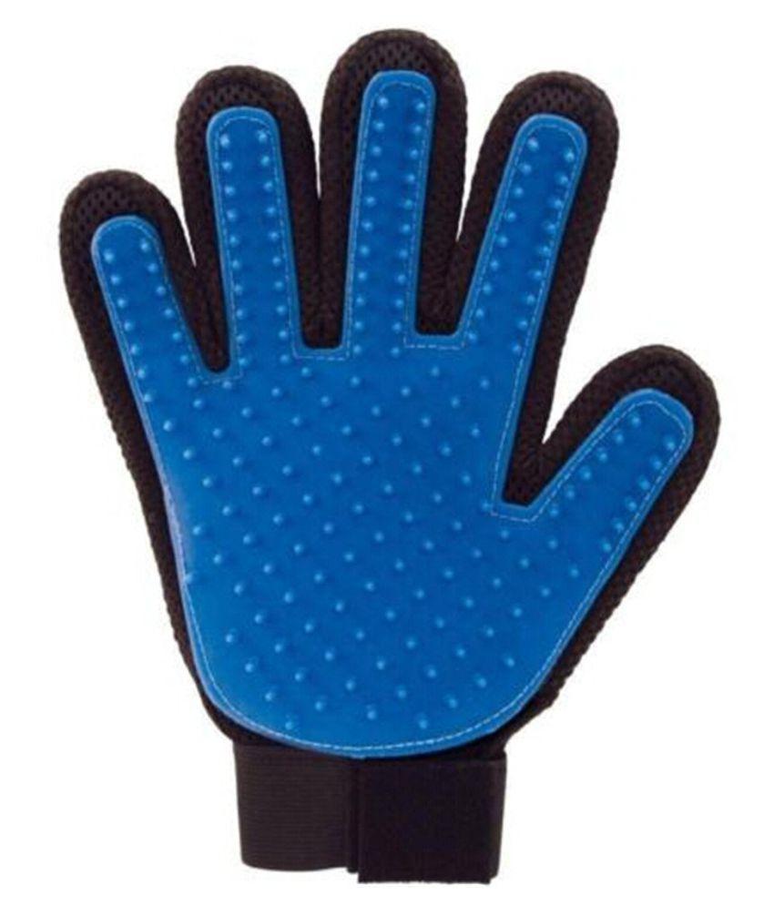 Basil Five Finger Deshedding Glove For Dog's Hair Control