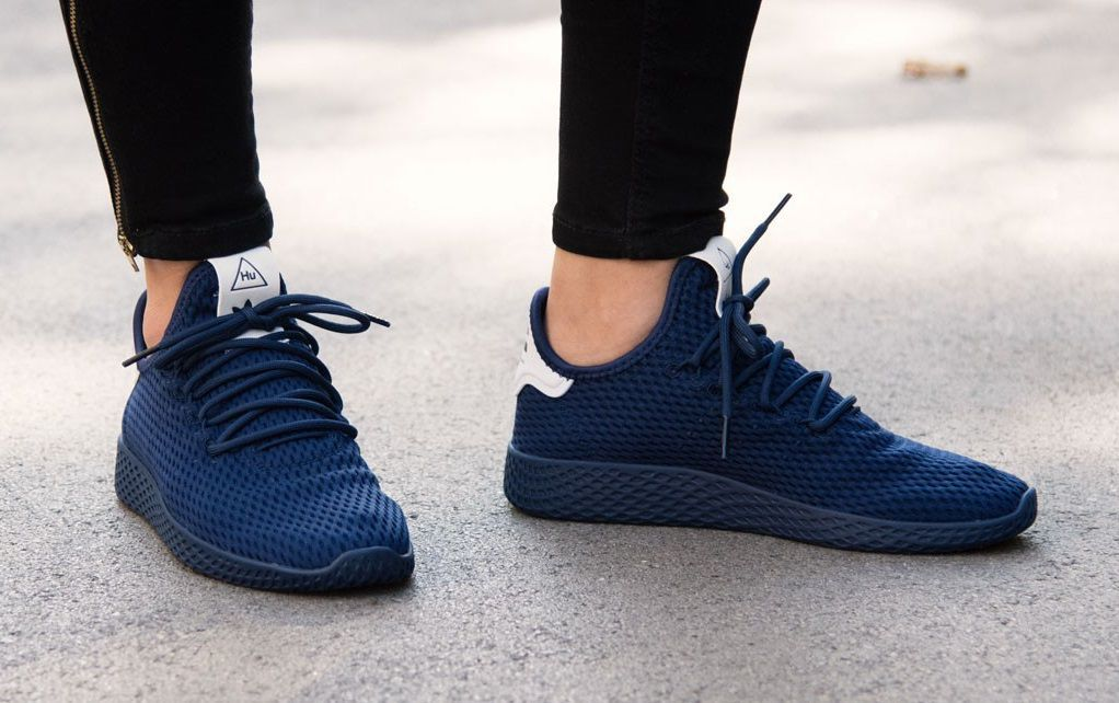 Adidas Pharrell Williams Tennis HU Navy Running Shoes - Buy Adidas ... 7d863ae21