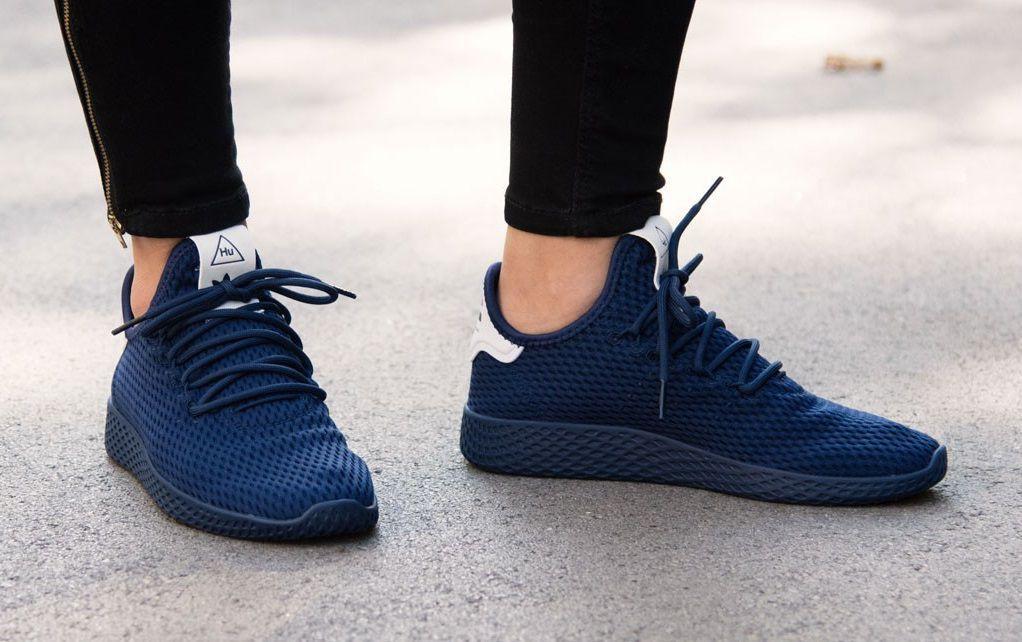 b3136c2df91d72 Adidas Pharrell Williams Tennis HU Navy Running Shoes - Buy Adidas ...