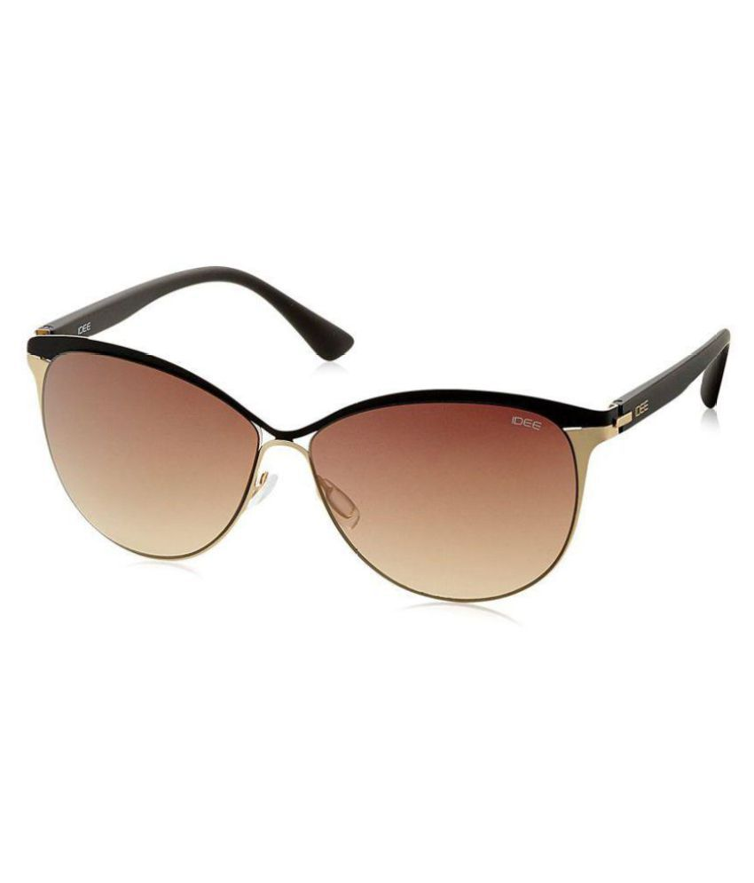 Idee Brown Oversized Sunglasses ( IDS2091C2SG )
