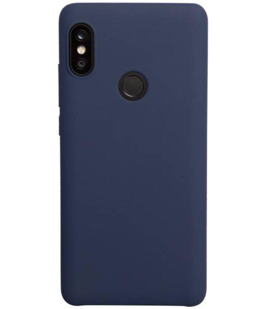 Samsung Galaxy Tab S 8.4 T701 Plain Back Cover By lahane kirana and mobile Navy Blue