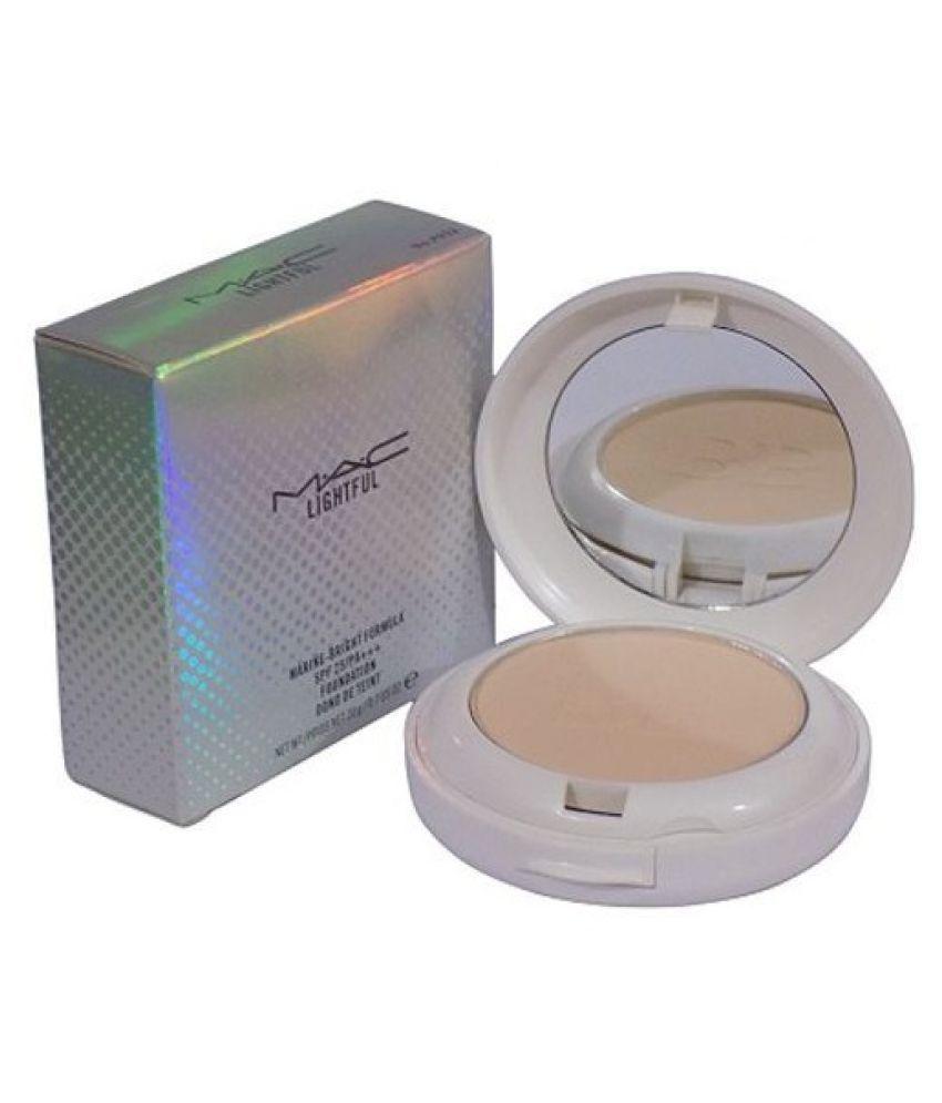 Mac LightFul Compact Pressed Powder Beige SPF 15 30 gm