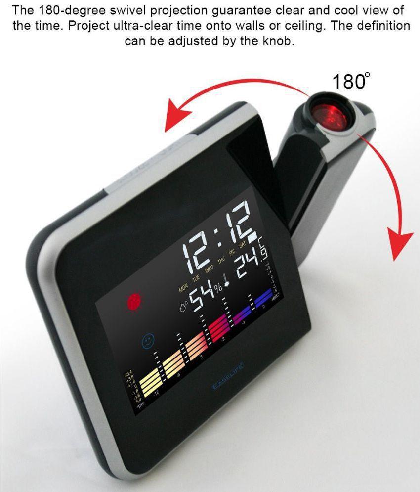 Easelife Digital 8190 Alarm Clock Pack Of 1