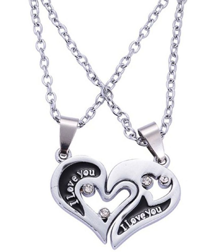 couple price key style carrie set p pendant necklace couples and for cheap heart