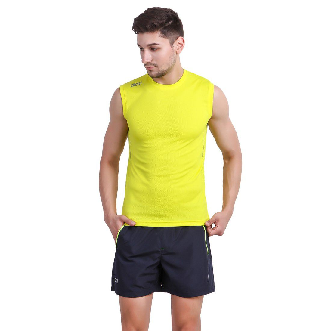 DIDA Yellow Polyester Jersey