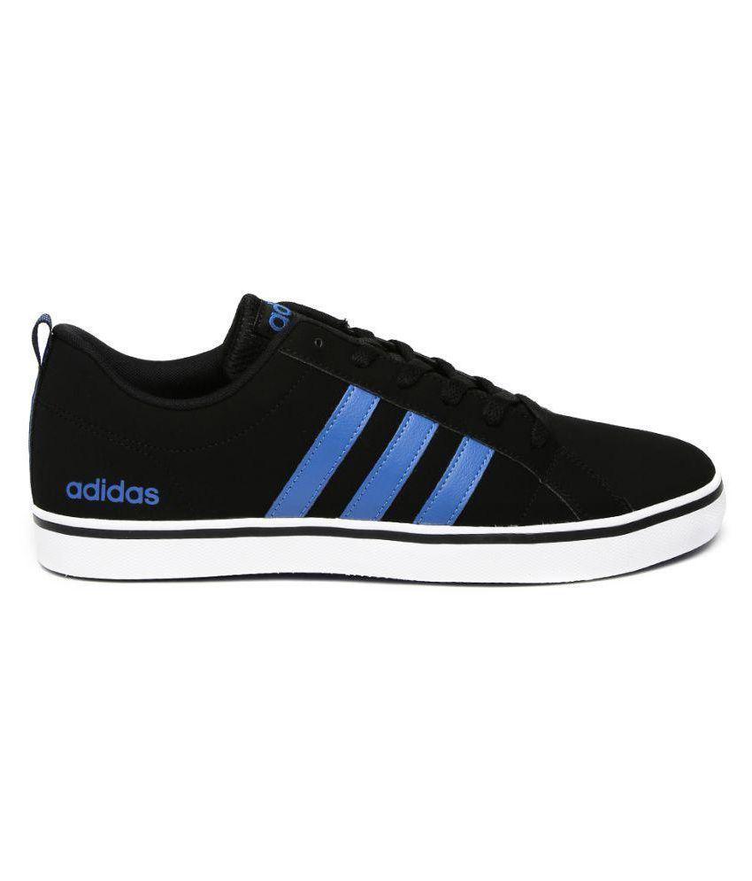 photos officielles d3c65 8a5c5 Adidas Neo Solid Pace VS Sneakers Black Casual Shoes