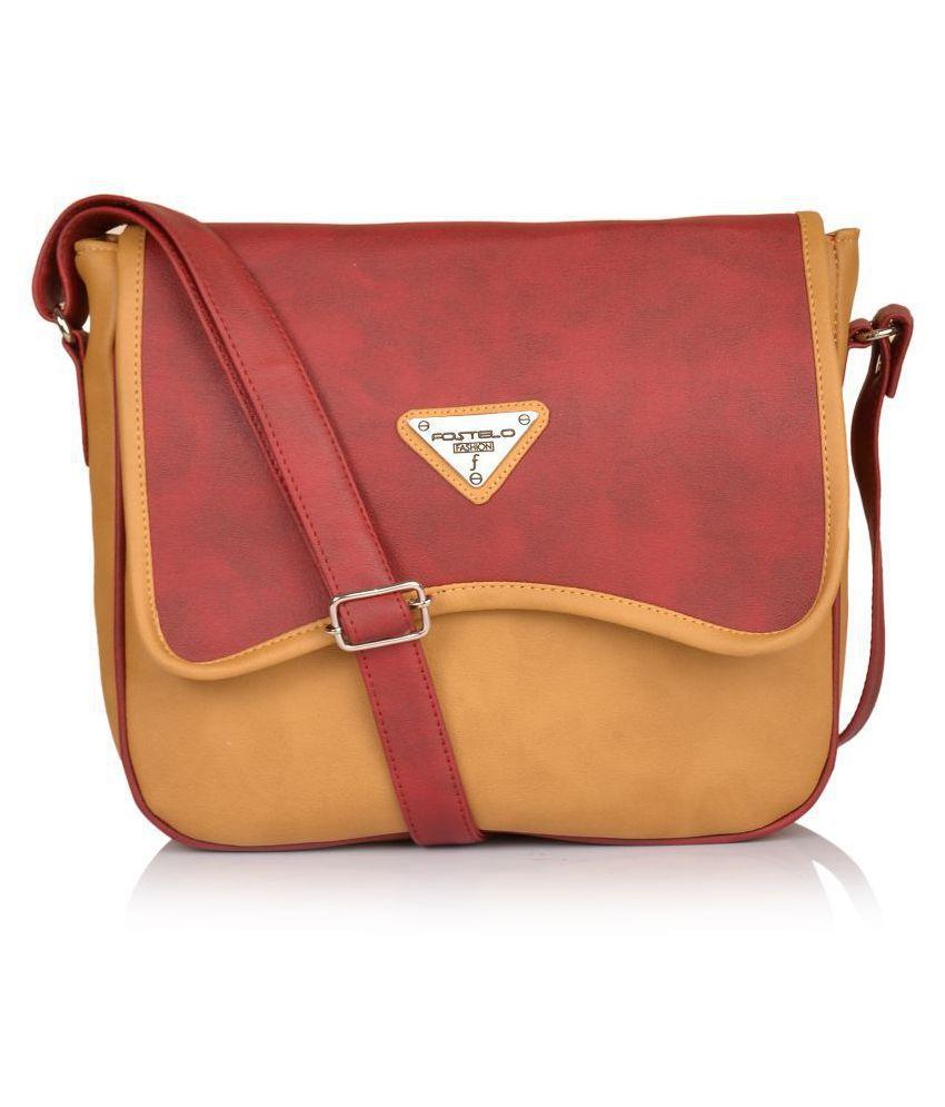 Fostelo Multi P.U. Sling Bag