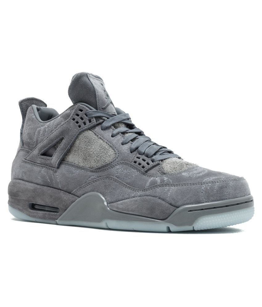 sale retailer 17456 4923e Nike Air Jordan Gray Basketball Shoes