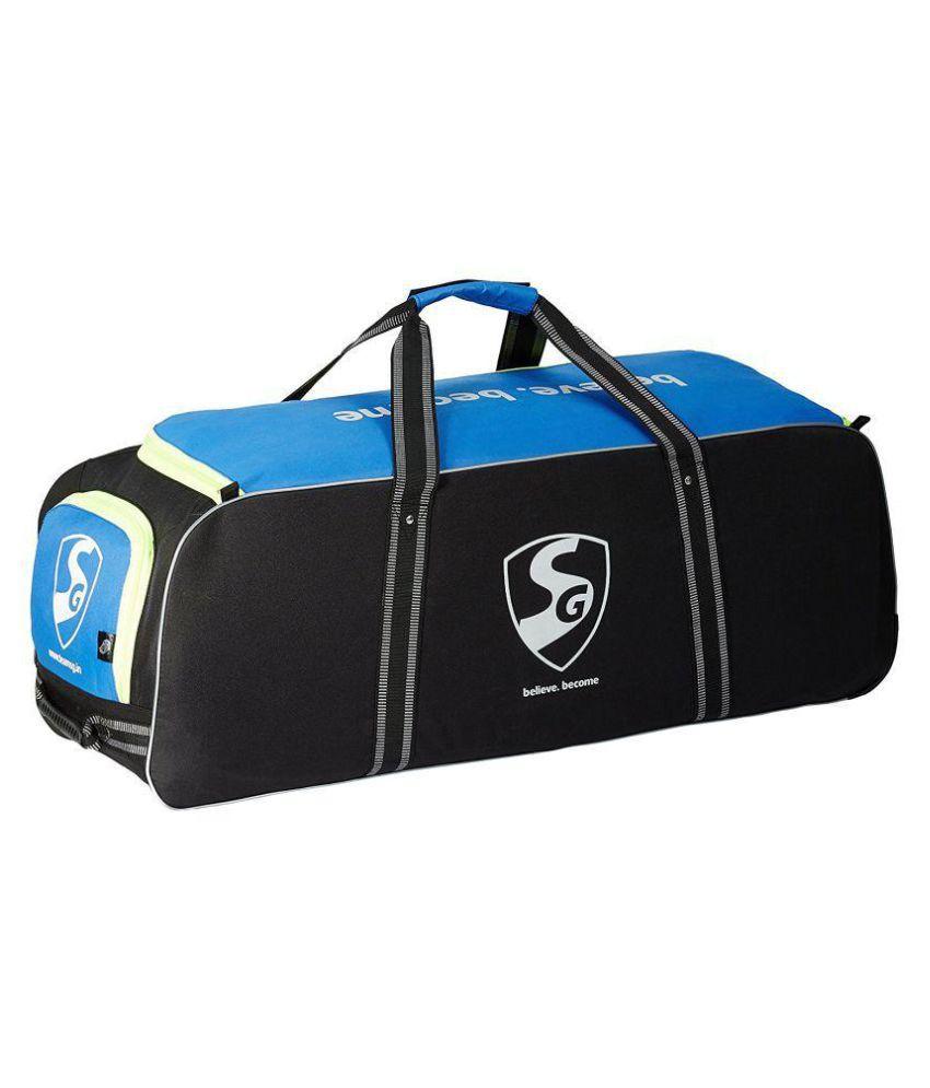 c1305644ba15 SG Teampak Cricket Kit Bag, 40 x 13.5 x 13.5 (Blue)
