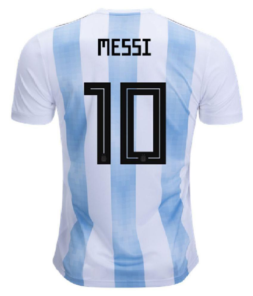 FIFA World Cup Argentina National Team Jersey (Messi)
