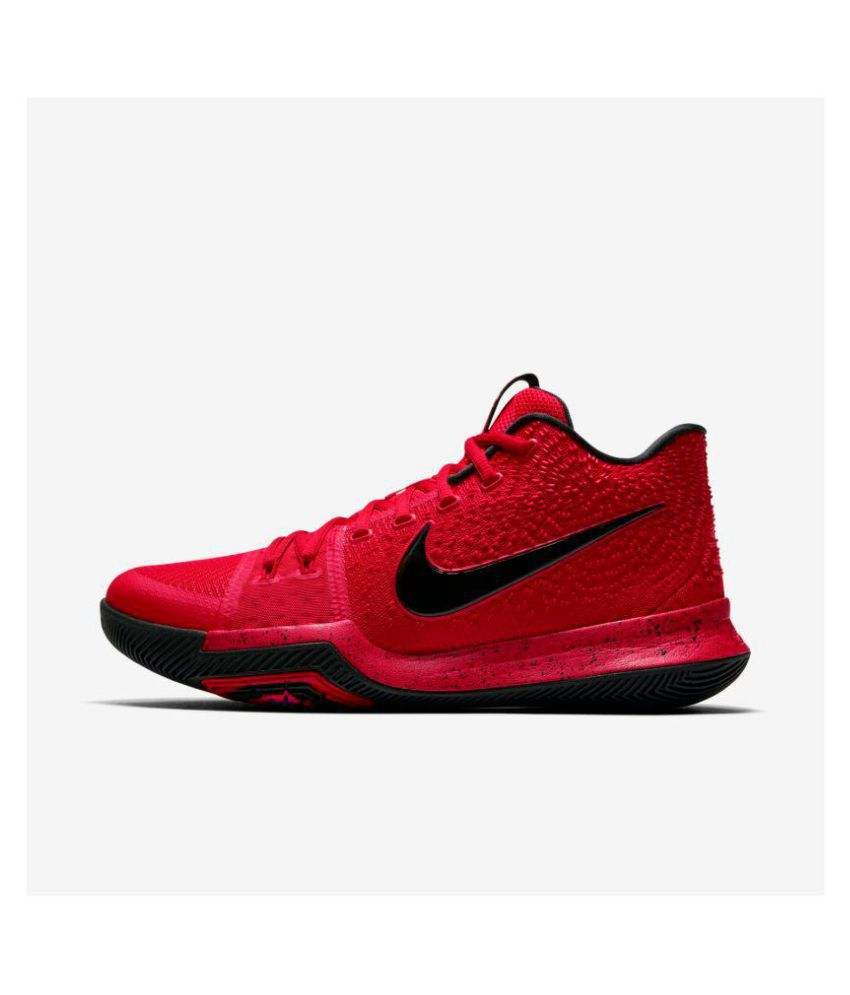sports shoes 9b056 c5af3 Nike Kyrie 3 Irving Red Running Shoes