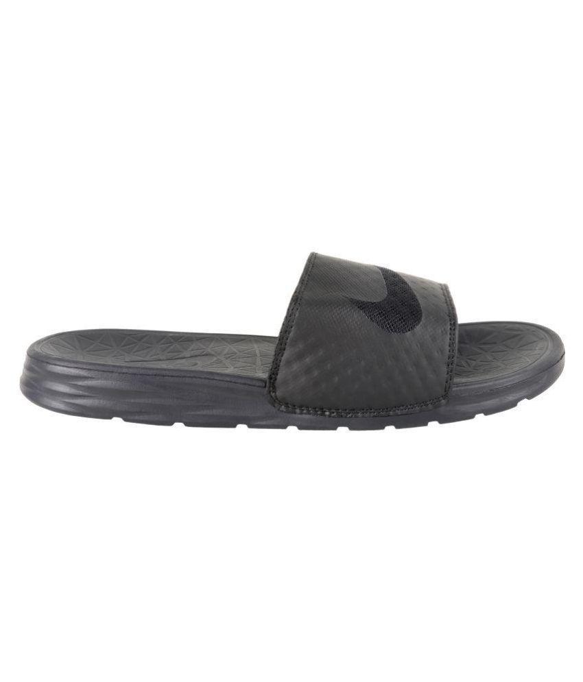 buy popular e8342 d9737 Nike solarsoft Black Slide Flip flop