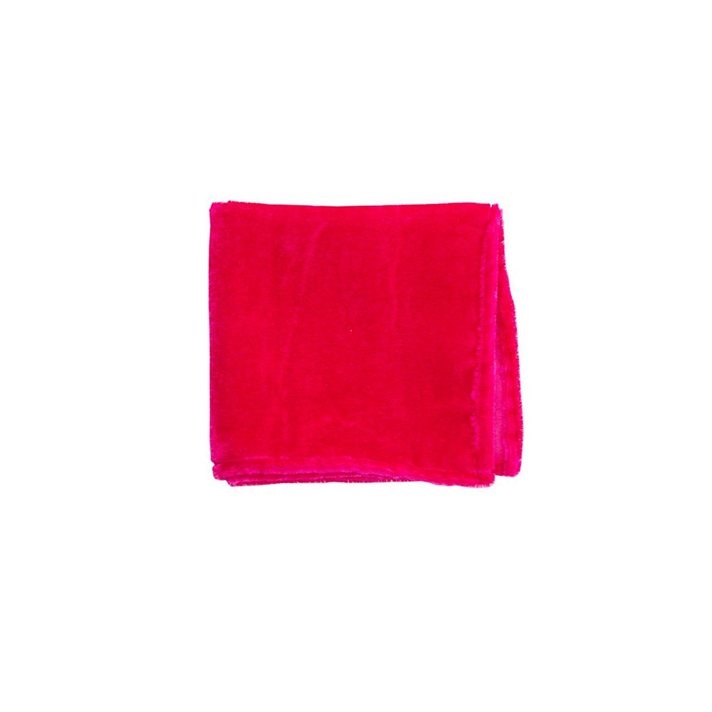 To The Nines Men's Pocket Square- Pink (velvet)