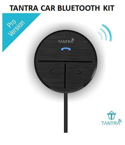 Tantra Fluke Pro Bluetooth Receiver 4 1 Bluetooth Kit for Car (Black)