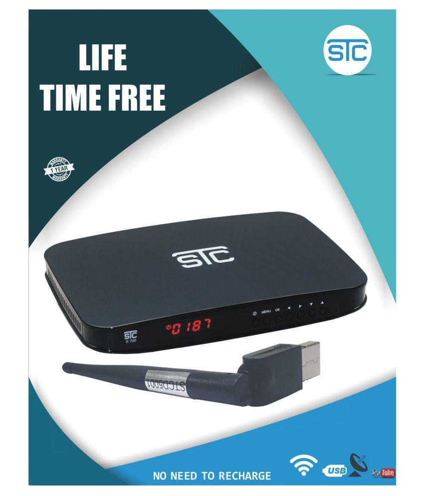 STC WiFi Digital Free-to-Air MPEG4,HD Set-Top Box H-700