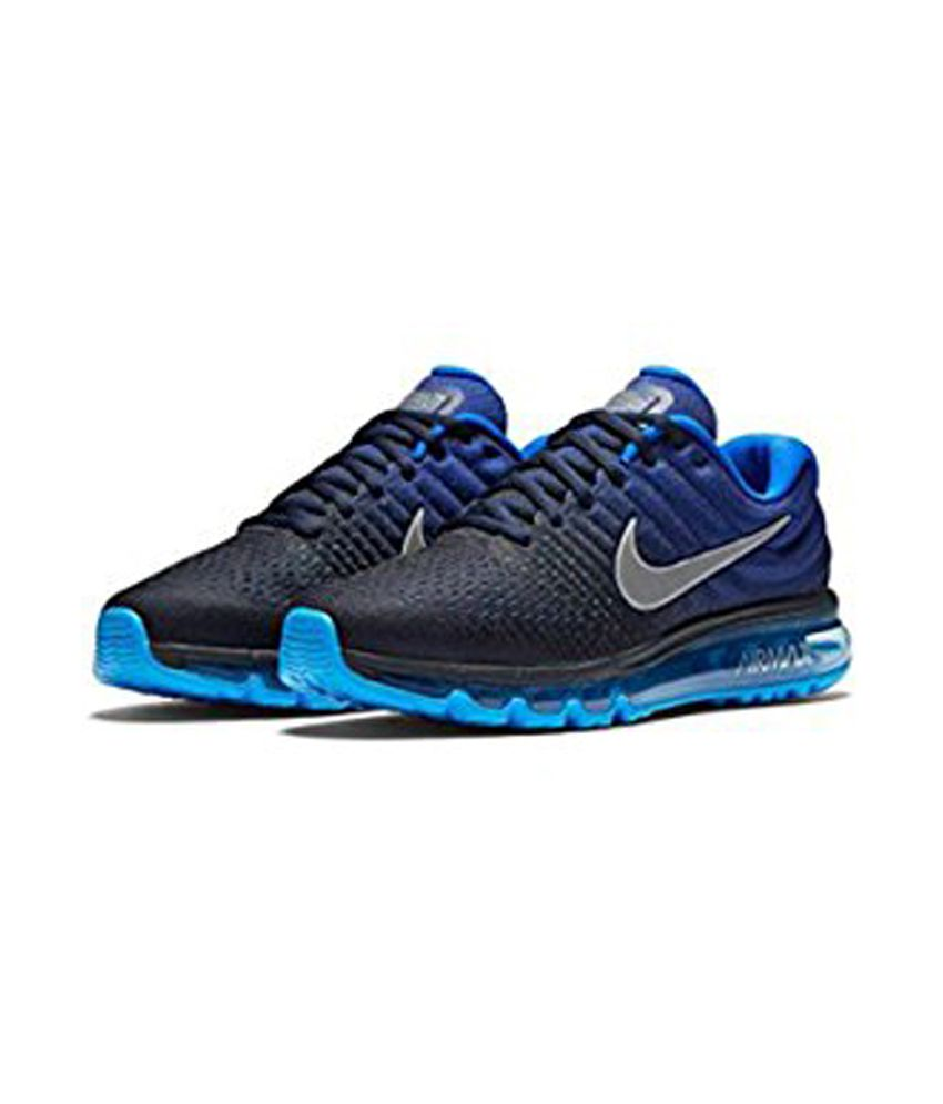 Nike Air Max 2017 Blue Running Shoes - Buy Nike Air Max ...
