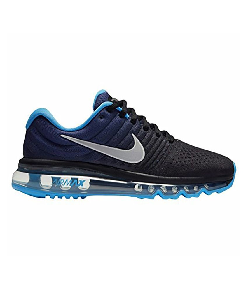9c04bc8263b0 Nike Air Max 2017 Blue Running Shoes - Buy Nike Air Max 2017 Blue Running  Shoes Online at Best Prices in India on Snapdeal