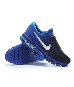 new arrival 8742a cd9bf Nike Air Max 2017 Blue Running Shoes - Buy Nike Air Max 2017 Blue Running  Shoes Online at Best Prices in India on Snapdeal