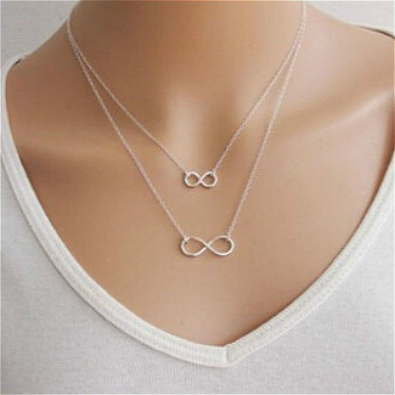 Women's Fashion Handmade Necklaces Lucky Infinite Necklace