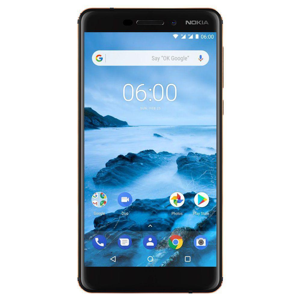 Nokia Black Nokia 6.1 (2018) (White/Iron) 32 MB